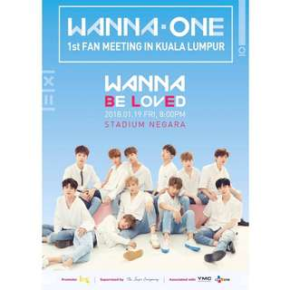 Hi i'm looking for wanna one ticket fanmeeting in malaysia