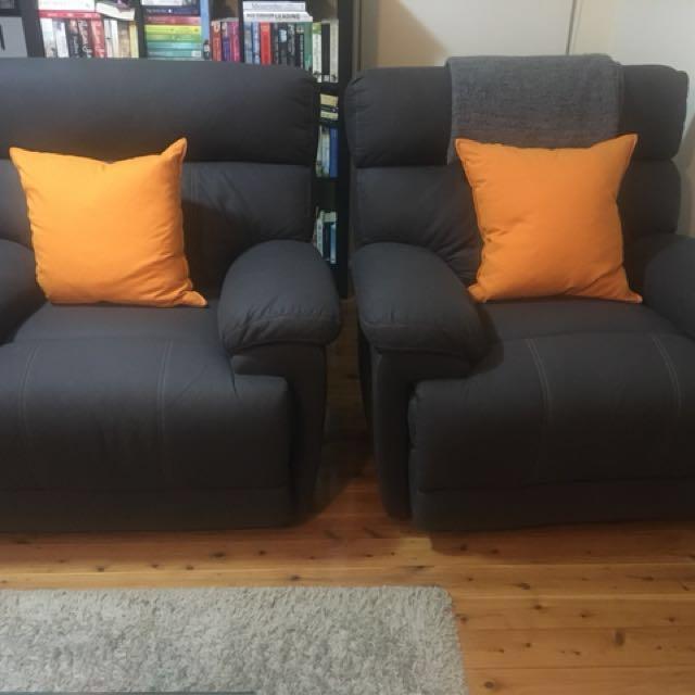 2 Recliner chair