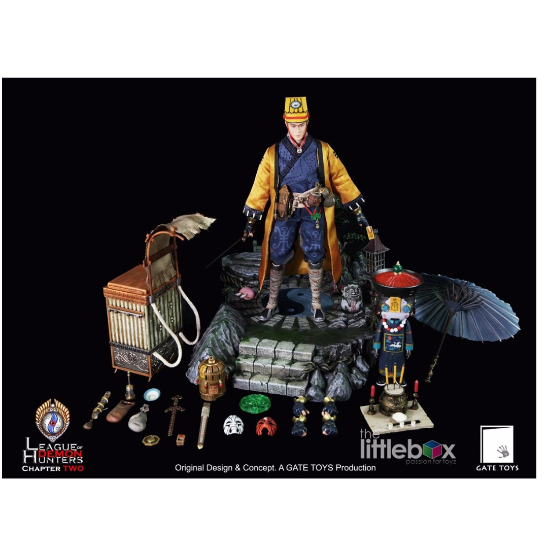 (30 sets ONLY) GATE TOYS 1/6 Scale League of Demon Hunters Chapter 2 Juan Tin Ming DELUXE Taoist