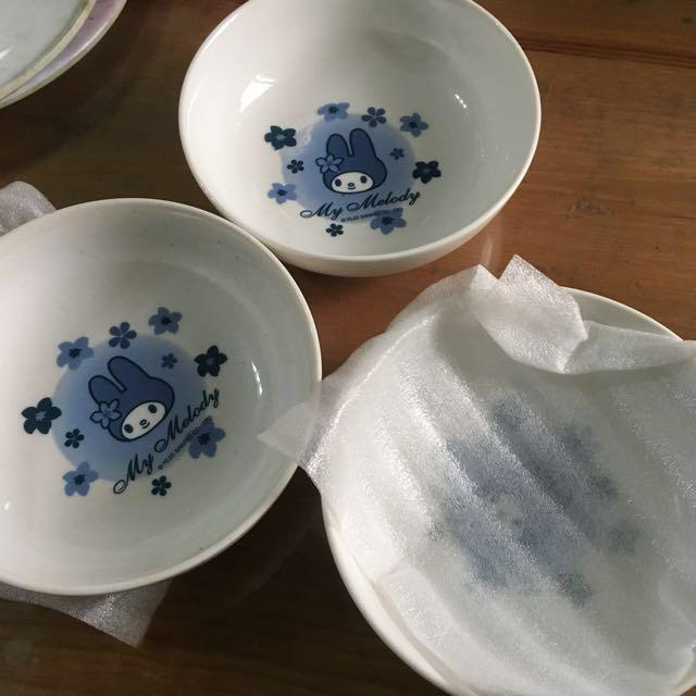美樂蒂碗盤(賣場買就送)