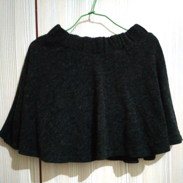 秋冬 針織 毛料 短裙