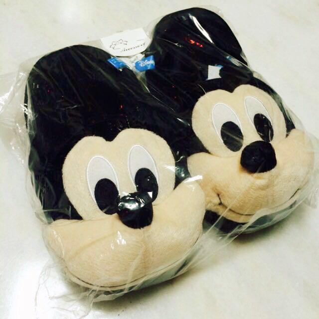 (免運)米奇 拖鞋 迪士尼 冬天保暖 #幫你省運費
