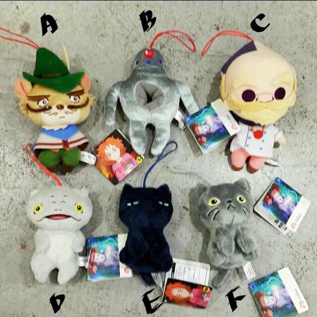 日本 瑪麗與魔女之花 メアリと魔女の花 布偶 娃娃 吊飾 玩偶 玩具 吉卜力工作室
