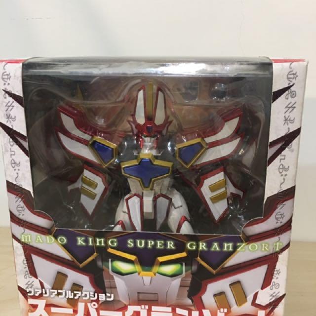 日本帶回 megahouse 魔動王 超級火王 模型