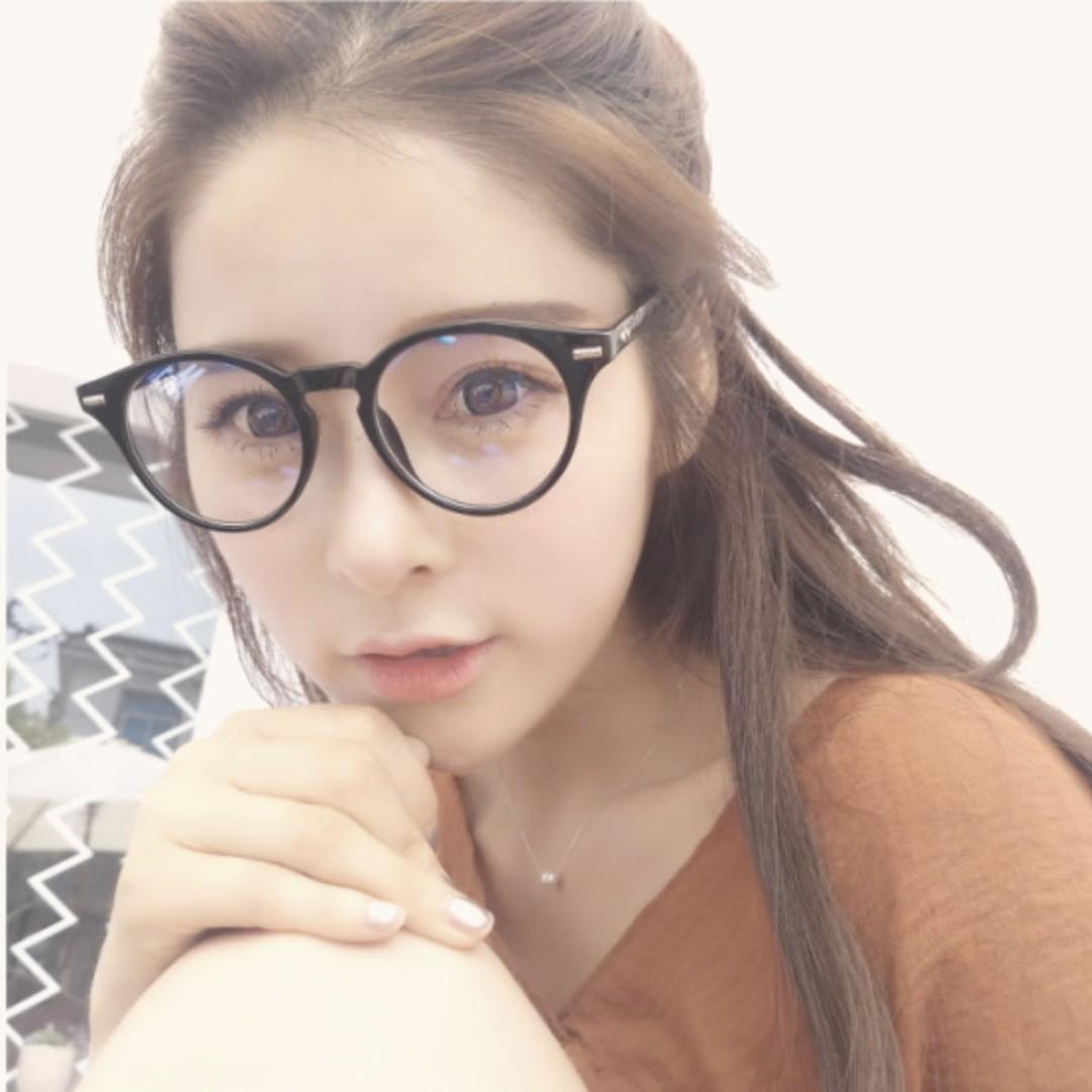 <現貨中>A10-韓國ulzzang韓版眼鏡框 復古小圓框眼镜 文藝 小清新 瘦臉 百搭穿戴 超美