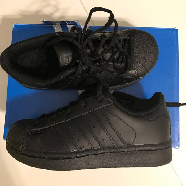 Adidas Superstar All Black Original