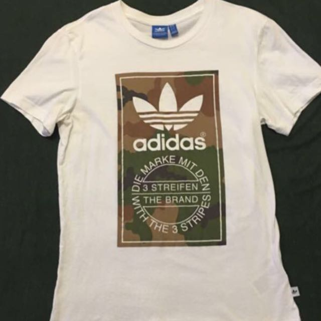Adidas 迷彩短T