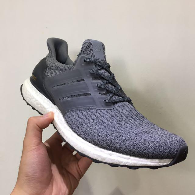 f70148c24cd1b Adidas Ultra Boost 3.0 Mystery Grey