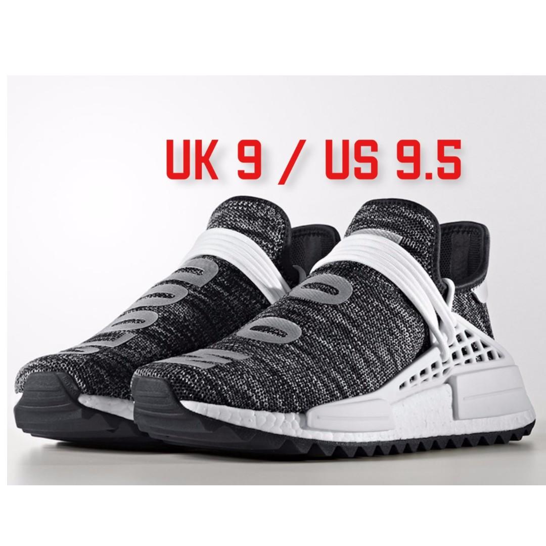 b957cfeb4160 Adidas x PW NMD Human Race Hu NMD TR Oreo UK 9   US 9.5