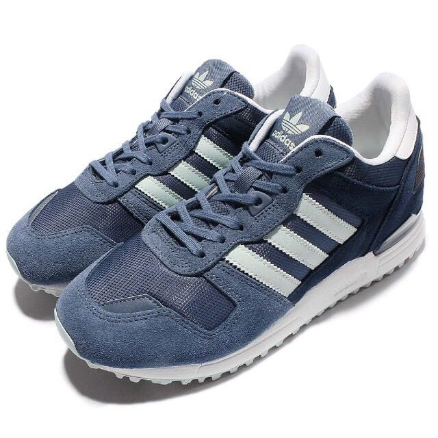 adidas zx700 海軍藍 麂皮