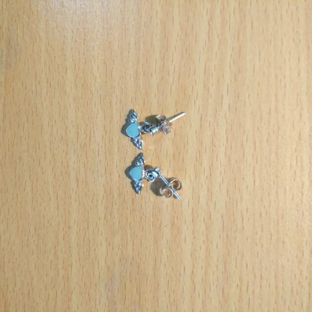 Anting sakura angel earrings
