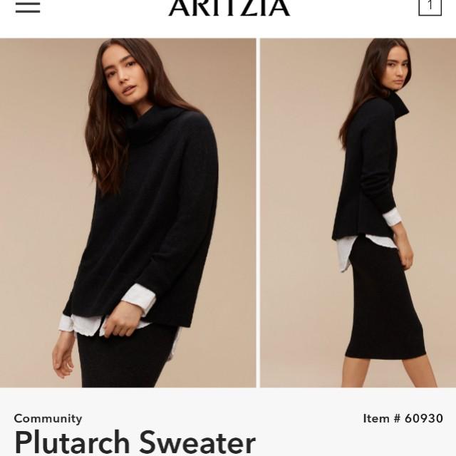 Aritzia COMMUNITY PLUTRACH Sweater