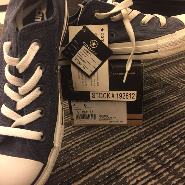 Authentic Converse Athletic Navy