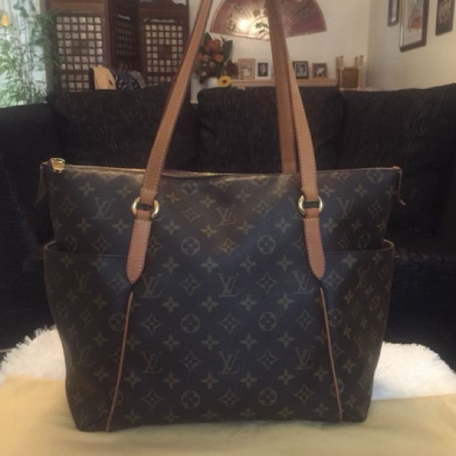 Authentic LV Totally Monogram GM