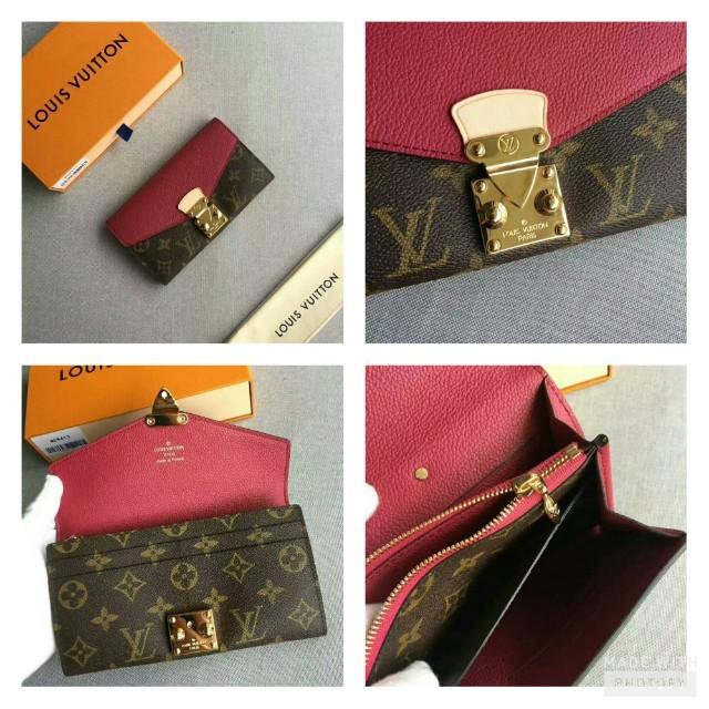 7c60b15f49d5 --AUTHENTIC OVERRUN--LV Wallet