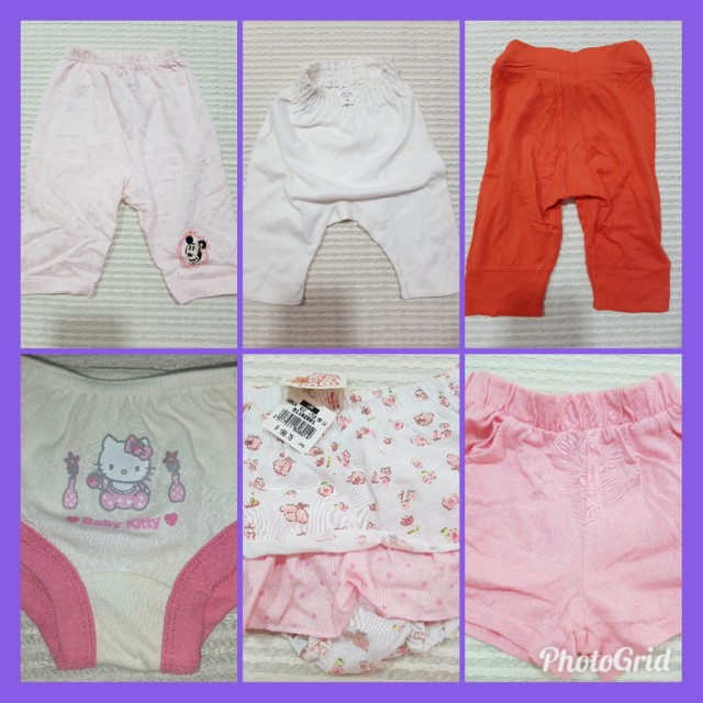 Baby Bottom Pants Shorts BRANDED Take All Enfant Mothercare Disney Bright Starts Sanrio