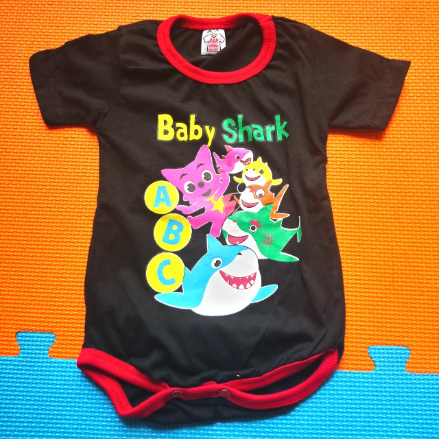 160c8e9e5 Baby Shark romper