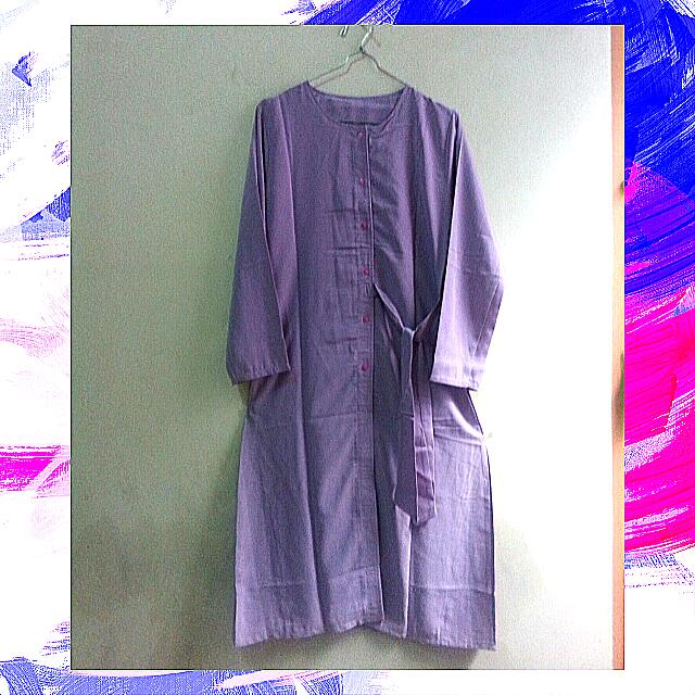 BAJU OLSHOP Purple Tunic