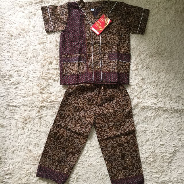 baju tidur batik