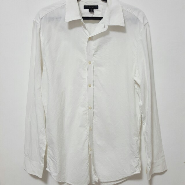 Banana Republic White Longsleeves