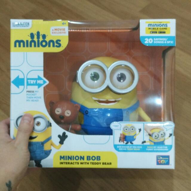 Big Talking Minion Figure - Minion Bob