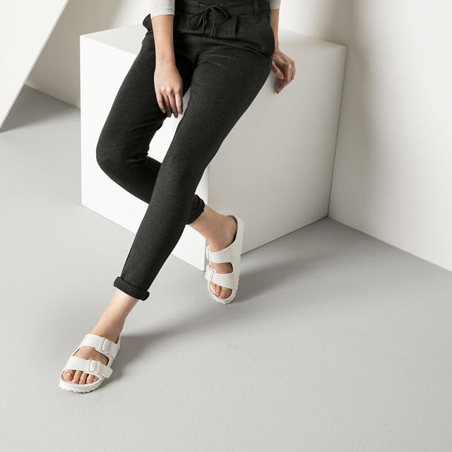 Birkenstock Arizona Eva White Women S Fashion Shoes On