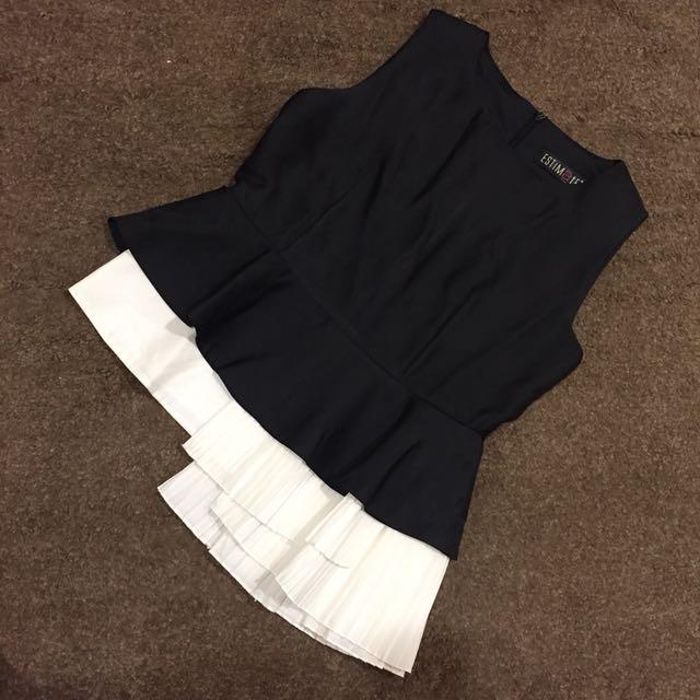 Black assymetric top