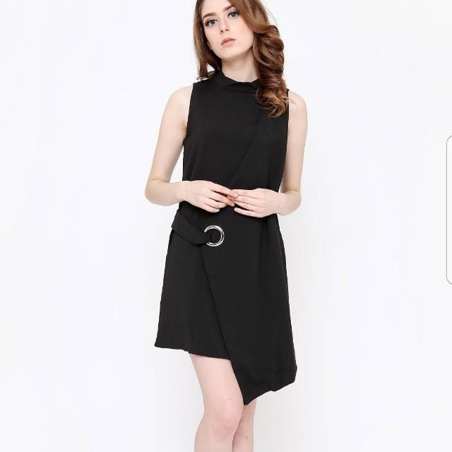 Black Asymetric Dress