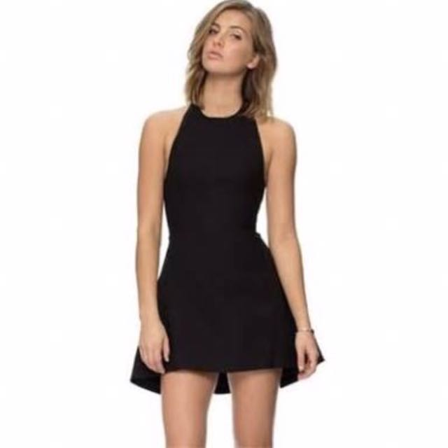 Black Cameo Dress XS