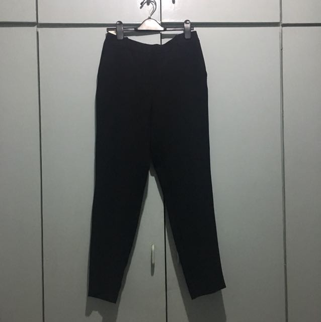 Black Mango Office Pants