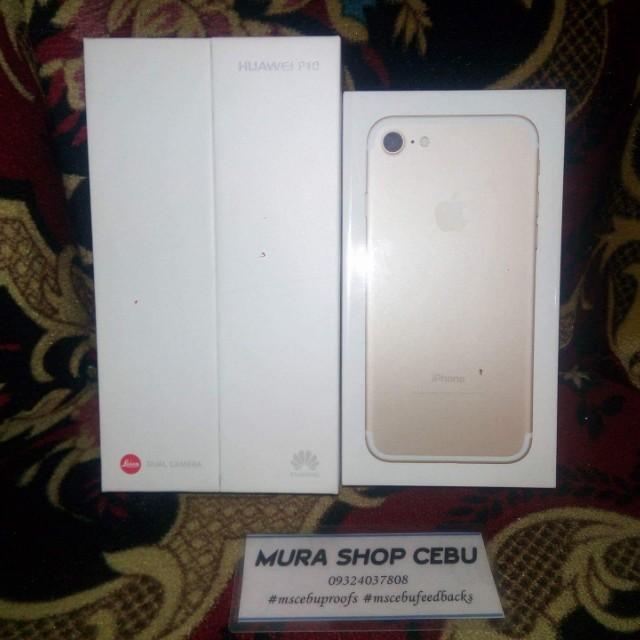 Brandnew Sealed Rush Huawei P10 64gb Gold