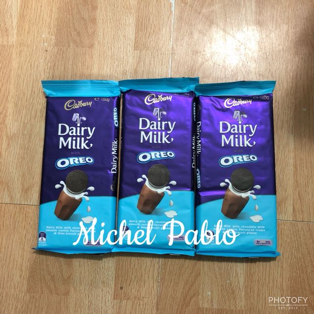 Cadbury with Oreo