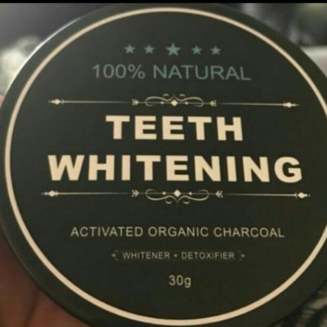 Charcoal Teeth Whitening Tub