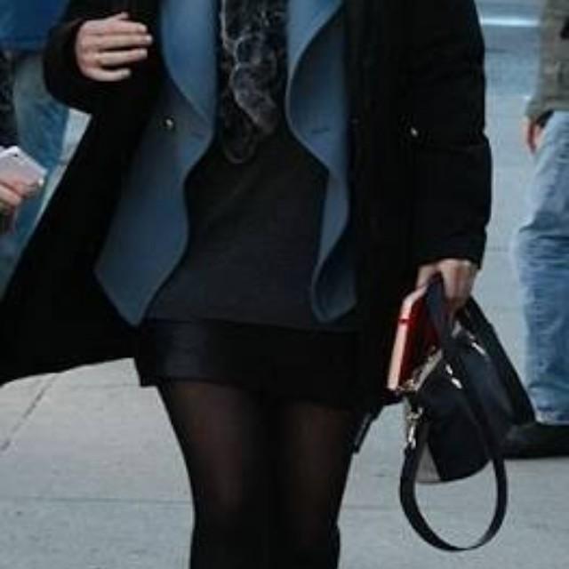 Chloe Baylee in black