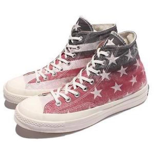 Converse 經典款 基本款 粉色 all star 9成新  24.5號 含運 有鞋盒