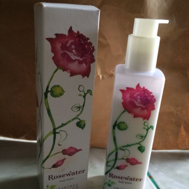 Crabtree and evelyn rosewater body lotion