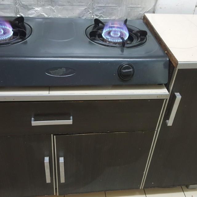Dapur Gas Almari Kitchen Liances On Carou