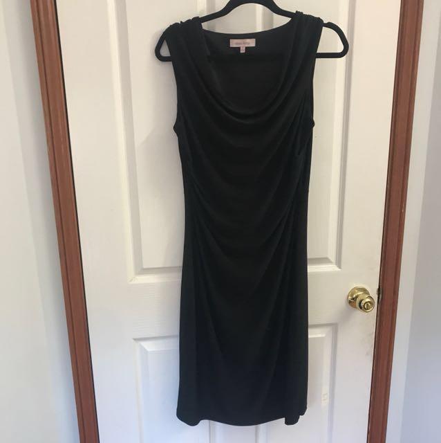 Diana Ferrari classic black dress size 12