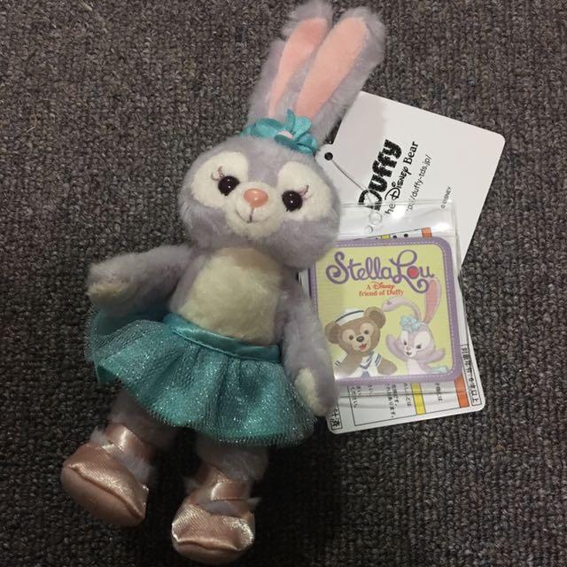 Disney sea Stellalou 兔子吊飾