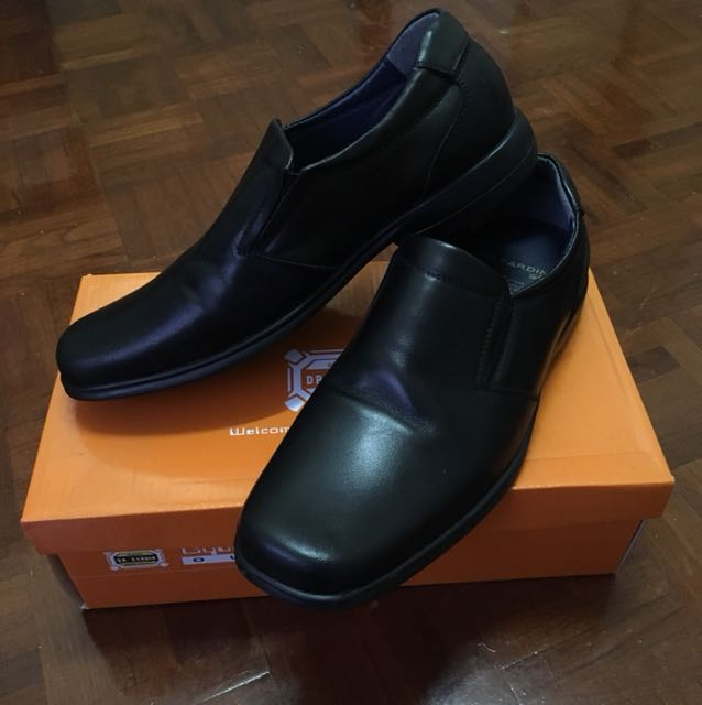 Dr Cardin Black Shoes