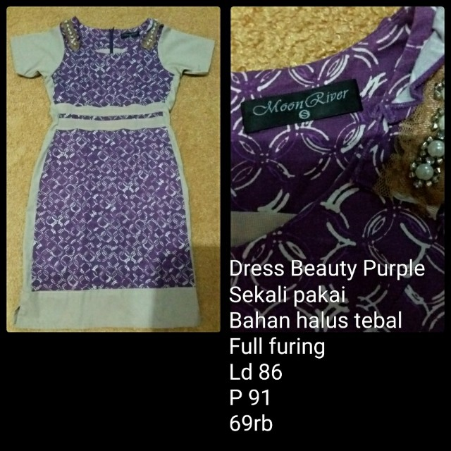 Dress Beauty Purple