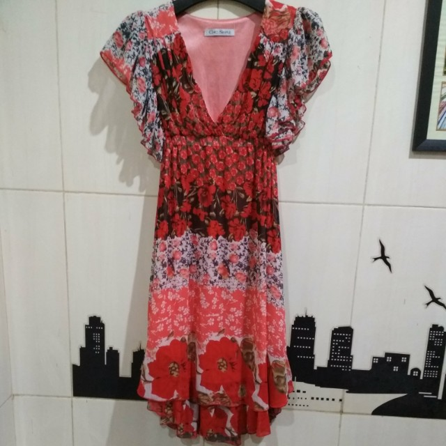 Dress Sifon Chic Simple