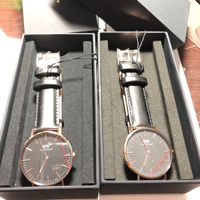 Dw全新手錶 正版 可以驗貨保固一年 dw手錶