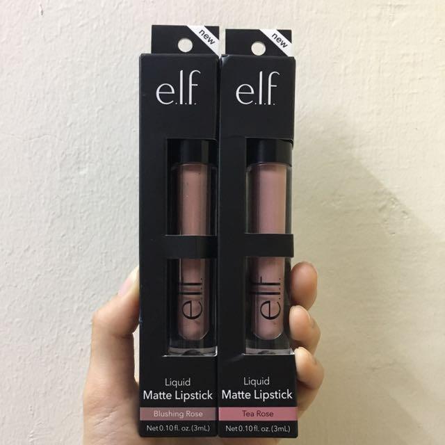 elf matte liquid lipstick