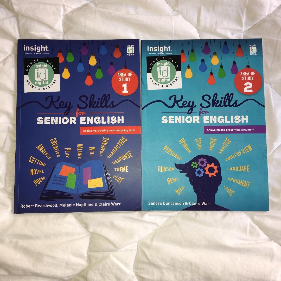 English Insight Key Skills Textbook