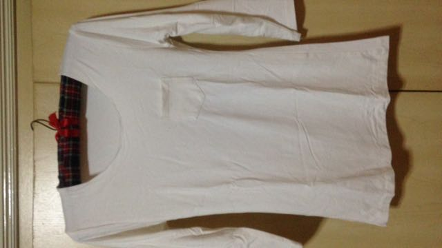 Fittes White 3/4 Top