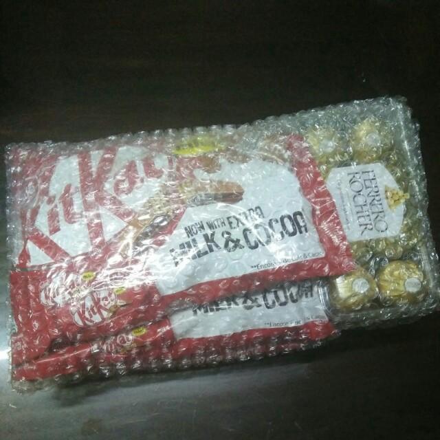 For shipment