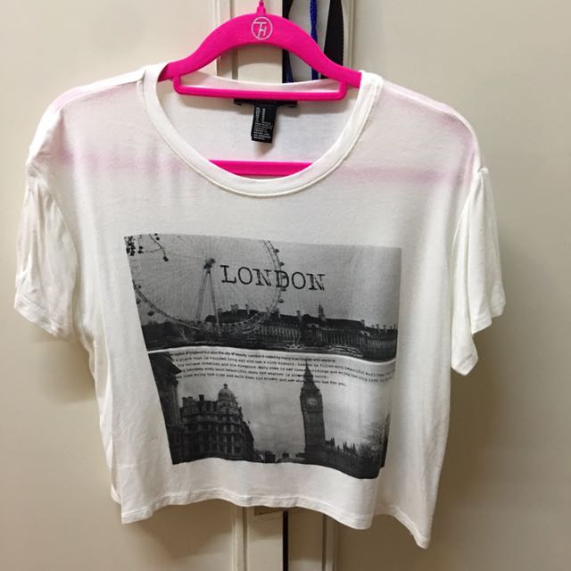 FOREVER 21 London Tshirt (worn once)