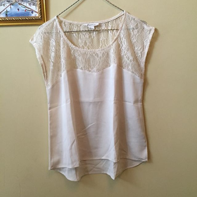Forever 21 XXI Lace Tee