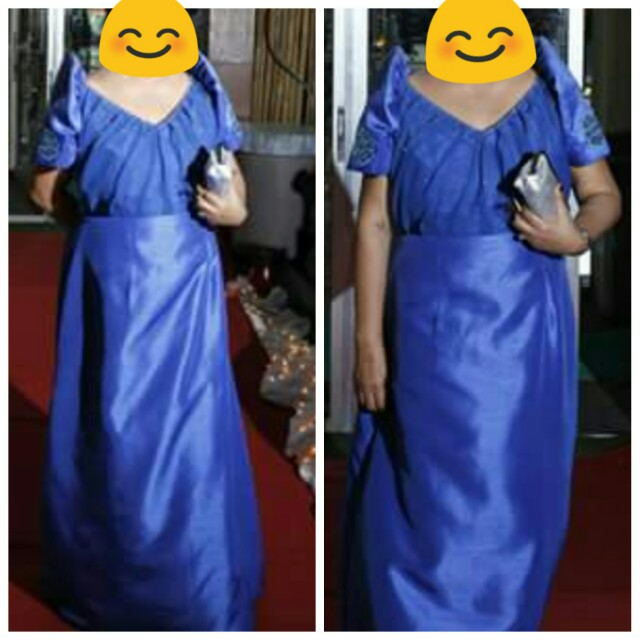 Formal Gown Filipiniana
